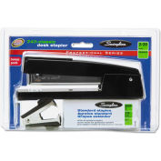 Swingline® 747 Classic Stapler Value Pack w/Staples and Remover, 20-Sheet Capacity, Black
