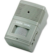 "Tatco 15300 Visitor Arrival/Departure Chime, Battery Operated, 2-3/4""W x 2""D x 4-1/4""H, Gray"