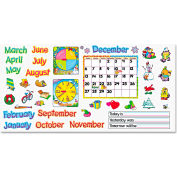 "Trend® Monthly Calendar (w/ Cling) Bulletin Board Set, 22"" x 17"""