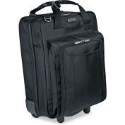 "Targus® Corporate Traveler Vertical Rolling Laptop Case, 17"",14 1/8 x 19 3/4 x 7 1/2, BK"