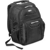 "Targus® Zip-Thru Air Traveler Backpack, Fits 16"" Widescreen Laptop, Polyester, Black"