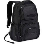Targus® Legend IQ Backpack, 12-6/10 x 10-1/2 x 18-3/10, Black