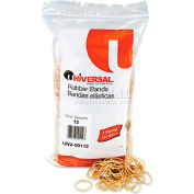 Universal® Rubber Bands, Size 12, 1-3/4 x 1/16, 2500 Bands/1lb Pack