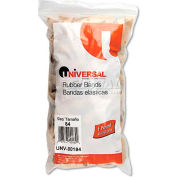 Universal® Rubber Bands, Size 84, 3-1/2 x 1/2, 155 Bands/1lb Pack