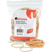 Universal® Rubber Bands, Size 16, 2-1/2 x 1/16, 475 Bands/1/4lb Pack