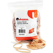Universal® Rubber Bands, Size 31, 2-1/2 x 1/8, 245 Bands/1/4lb Pack