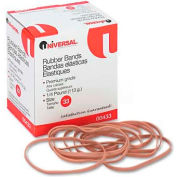 Universal® Rubber Bands, Size 33, 3-1/2 x 1/8, 160 Bands/1/4lb Pack