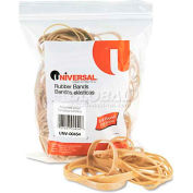 Universal® Rubber Bands, Size 54, Assorted Lengths, 1/4lb Pack