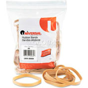 Universal® Rubber Bands, Size 64, 3-1/2 x 1/4, 80 Bands/1/4lb Pack