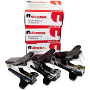 Universal Jaw Style Staple Remover, Black, 3 per Pack
