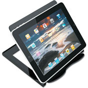 Universal® eReader Stand, 1-Compartment, 7 1/8 x 7 x 5 3/4, Black