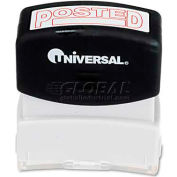 Universal Message Stamp, POSTED, Pre-Inked/Re-Inkable, Red