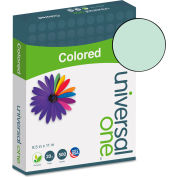 Colored Paper - Universal UNV11202 - Green - 8-1/2 x 11 - 28 lb. - 500 Sheets/Ream