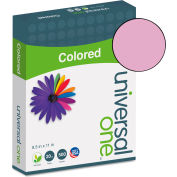 Colored Paper - Universal UNV11202 - Orchid - 8-1/2 x 11 - 28 lb. - 500 Sheets/Ream