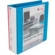 "Avery® Economy D-Ring Vinyl View Binder, 3"" Capacity, Light Blue"