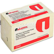 Universal® Standard Self-Stick Notes, 3 x 3, Yellow, 18 100-Sheet Pads/Pack