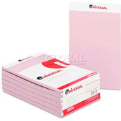 Universal® Colored Perforated Note Pads, Wide Rule, 5 x 8, Orchid, 50-Sheet, Dozen