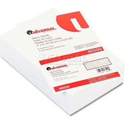 Universal® Loose Memo Sheets, 4 x6, White, 500 Sheets/Pack