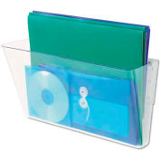 Universal Add-on Pocket for Wall File, Letter, Clear
