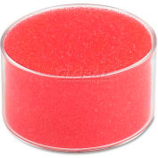 "Universal® Sponge Cup Moistener, 3"" Dia, Clear"