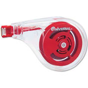 Universal One Sideways Application Correction Tape, 1/5 x 393, 6/Pack