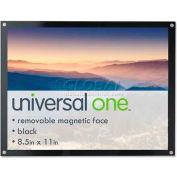 Universal Acrylic Easel Back Magnetic Frame for 8 1/2 x 11 Insert, Black