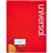 Universal® Laser Printer Permanent Labels, 2 x 4, White, 1000 Labels