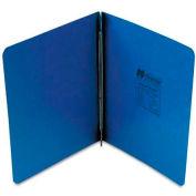 "Unviversal Pressboard Report Cover, Prong Clip, Letter, 3"" Capacity, Dark Blue"
