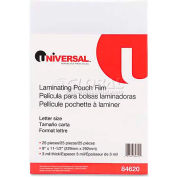 Universal Clear Laminating Pouches, 3 mil, 9 x 11 1/2, 25/Pack
