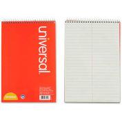 Universal® Steno Book, Gregg Rule, 6 x 9, Green, 80 Sheets/Pad