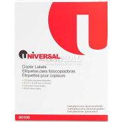 Universal® Shipping Labels for Copiers, 8-1/2 x 11, Bright White, 100/Box