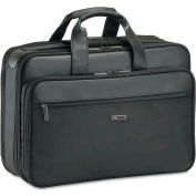 "SOLO® Classic Smart Strap Briefcase, 16"", 17 1/2 x 5 1/2 x 12, Black"