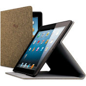SOLO® Urban Slim Case for iPad Air, Polyester Fabric, Brown