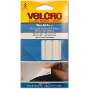VELCRO® Brand Sticky Fix Tak, 6 Bars/Pack, White