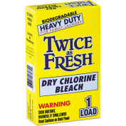 Diversey Twice As Fresh Laundry Bleach Powder, 2 oz. Box, 100 Boxes - 2979646