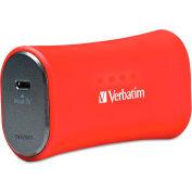 Verbatim® Portable Power Pack Chargers, 2200mAh, Red
