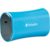 Verbatim® Portable Power Pack Chargers, 2200mAh, Blue