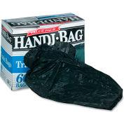 Handi-Bag® Super Value Pack Trash Bag 30 Gallon 0.69 Mil, Black 60 Bags/Box - WBIHAB6FT60