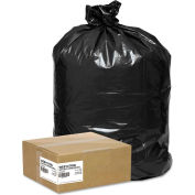Super Value Pack Contractor Bag 42 Gallon 2.50 Mil, Black 50 Bags/Box - WBIWEB1CTR50