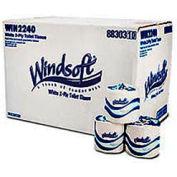 Single Roll Bath Tissue, 500 Sheets/Roll, 96 Rolls/Case - WNS2240