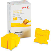 Xerox® 108R00928 Solid Ink Stick, 4,400 Page Yield, Yellow, 2/Box