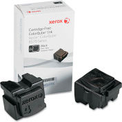 Xerox® 108R00929 Solid Ink Stick, 4,400 Page Yield, Black, 2/Box