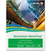 "Xerox™ Revolution NeverTear Paper, White, 5 mil, 8-1/2"" x 11"", 500 Sheets/Ream"