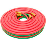 """50' Oxyacetylene Twin Hose - 3/8"""" (A) Connection"""