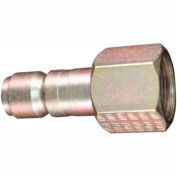"Milton 1818 G Style Industrial Plug 1/2"" FNPT 100 Pack"
