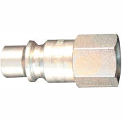 "Milton 1840 H Style Industrial Plug 1/4"" FNPT 100 Pack"