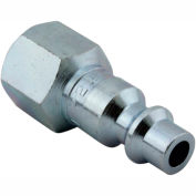 "Milton 728 M Style Industrial Plug 1/4"" FNPT 250 Pack"