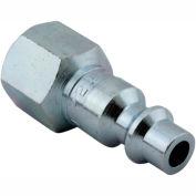 "Milton 728 M Style Industrial Plug 1/4"" FNPT 250 Pack"
