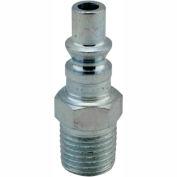 """Milton 777 A Style ARO Plug 1/4"""" MNPT 250 Pack"""