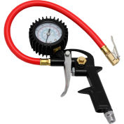 EXELAIR™ Analog Pistol Grip Tire Inflator/Deflator Gauge Kit, 0 to 120 PSI - EX0510PKIT